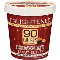 Enlightened Ice Cream, Light, Chocolate Peanut Butter