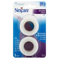 3M Nexcare Flexible Clear Tape 20 YD