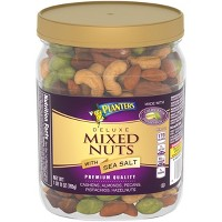 Planters Deluxe Mixed Nuts with Sea Salt - 27oz