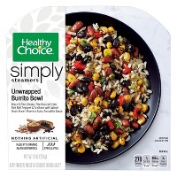 Healthy Choice Simply Organic Unwrapped Frozen Burrito Bowl - 9.25oz