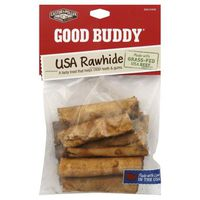 Castor & Pollux Natural Petworks Good Buddy Dog Chew, Usa Rawhide