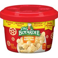 Chef Boyardee Pasta In Butter Sauce Microwave Bowl