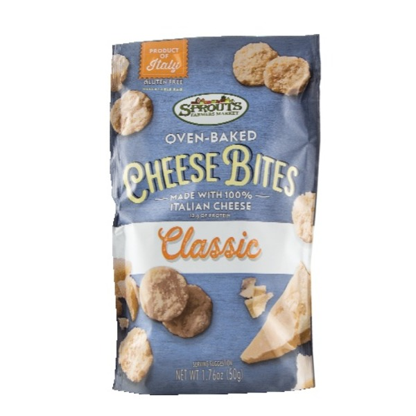 Sprouts Classic Oven-Baked Cheese Bites