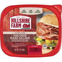 Hillshire Farm Ultra Thin Sliced Uncured Hard Salami, 7 Oz.