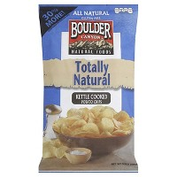 Boulder Kettle Cooked Potato Chips - 6.5 0z (Pack of 12)