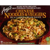 Amy's Chinese Noodles & Veggies, in a Cashew Sauce