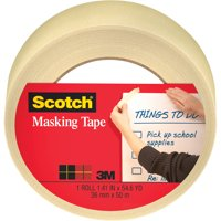 Scotch Home and Office Masking Tape, 1-1/2