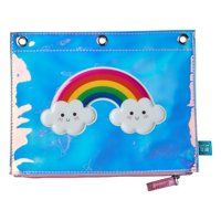 Pen + Gear Shiny Rainbow Binder Pouch