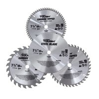 Hyper Tough 7-1/4-inch Circular Saw Blades, 4-Piece, AU30006J