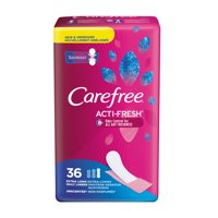 Carefree Acti-Fresh Extra Long Pantiliners To Go, Unscented, 36 Ct
