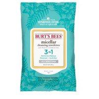 Burt's Bees Micellar Cleansing Towelettes - 10ct