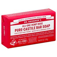 Dr. Bronner's Bar Soap, All-One Hemp Rose