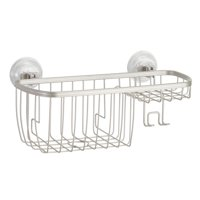 Better Homes & Gardens Satin Suction Shower Basket