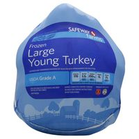 Safeway Large Young Turkey