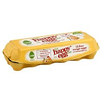 Happy Egg Co. Large Brown Grade A Free Range Eggs - 12ct