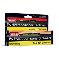 H-E-B 1% Hydrocortisone Anti Itch Ointment Cream