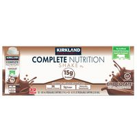 Kirkland Signature Complete Nutrition Chocolate Shake, 32 x 8.2 fl oz