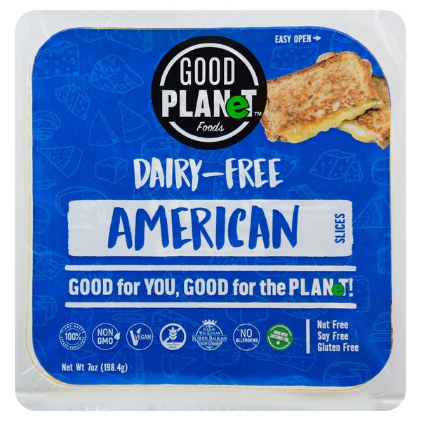Good Planet Cheese Slices, Dairy-Free, American