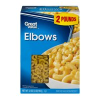 Great Value Elbow Macaroni, 32 oz