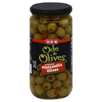 H-E-B Ode To Olives Stuffed Manzanilla Olives