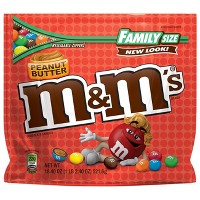 M&M's Peanut Butter Family Size Chocolate Candies - 18.4oz
