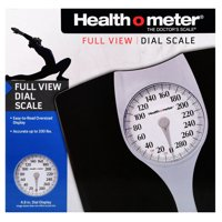 Health O Meter Full View Dial Bathroom Scale