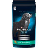 Purina Pro Plan High Protein Giant Breed Dry Dog Food, FOCUS Giant Breed Formula