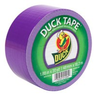 Color Duck Tape Brand Color Duct Tape, Purple, 1.88 In. x 20 Yd.