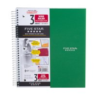 Five Star 3 Subject Wide Ruled Notebook - 150 Sheets, 1.0 CT