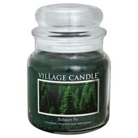Village Candle Candle, Balsam Fir, Premium Jar