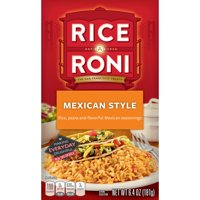 Rice-A-Roni Rice & Pasta Mix, Mexican Style, 6.4 oz Box