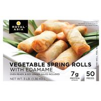 Royal Asia Vegetable Spring Rolls, 50 ct
