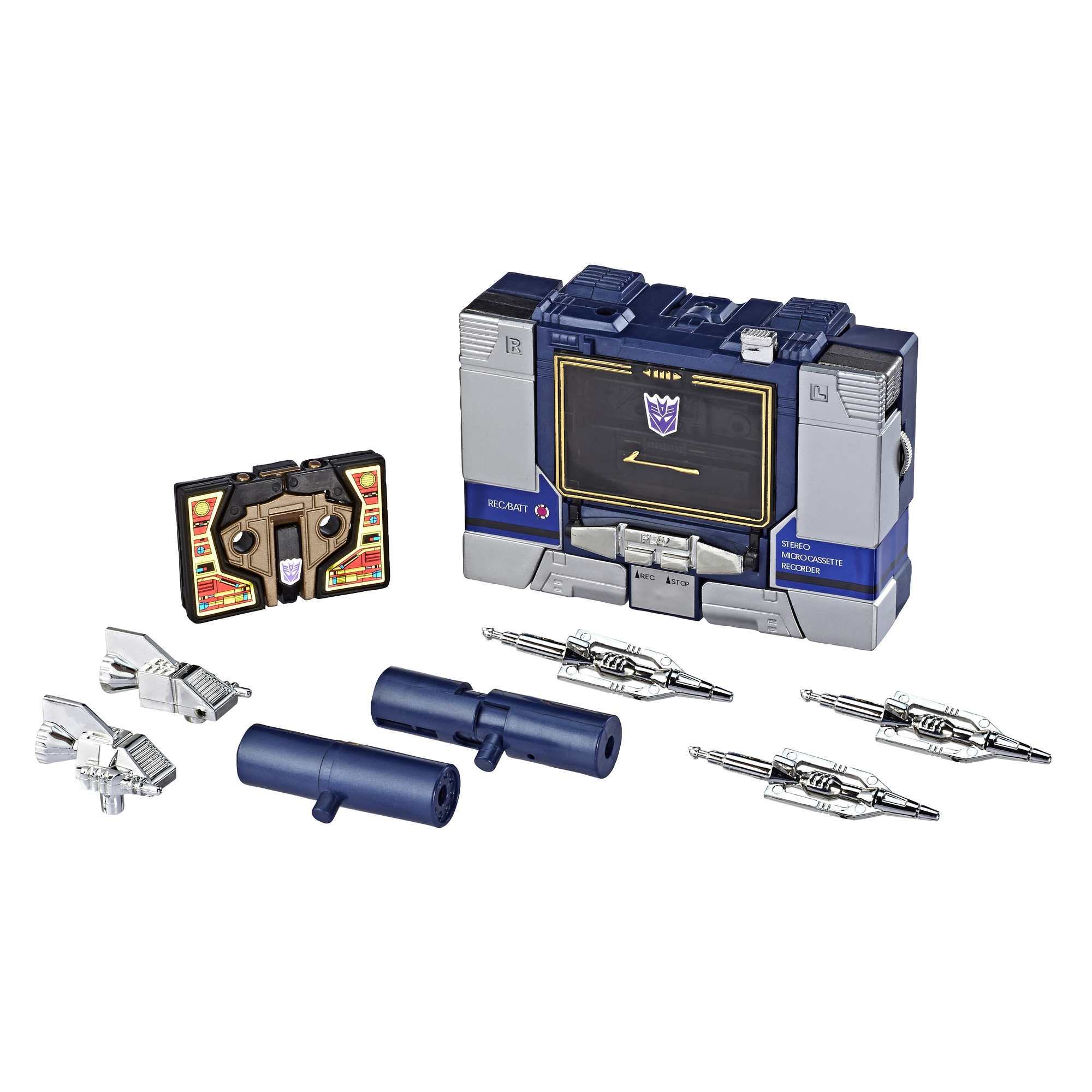 Transformers: Vintage G1 Soundwave and Buzzsaw Collectible Figures
