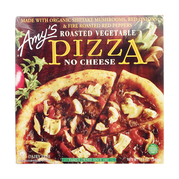 No Cheese Roasted Vegetable Pizza, 12 oz