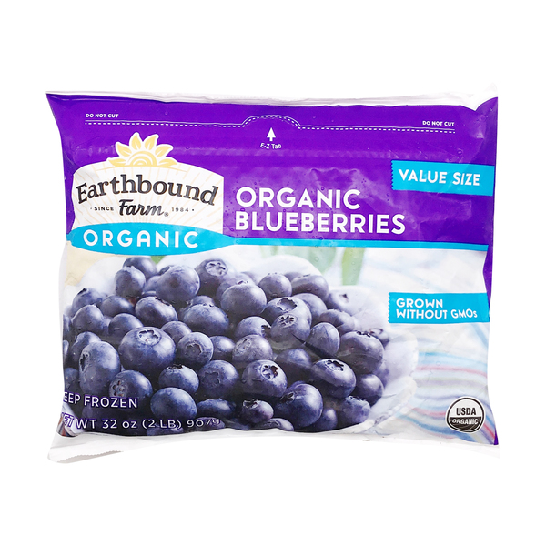 Earthbound farm Organic Blueberries, 32 oz