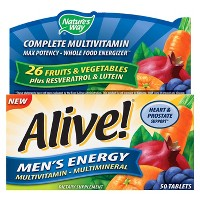 Nature's Way Alive! Men's Energy Multivitamin Tablets - 50ct