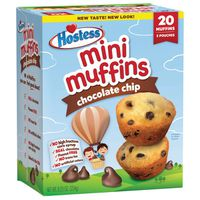 Hostess Chocolate Chip Mini Muffins Pouches