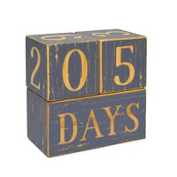 Milestone Wood Blocks - Cloud Island™ Gray