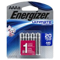 Energizer Batteries, Ultimate Lithium, AAA