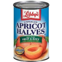 Libby's Unpeeled Apricot Halves