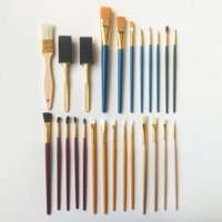 Assorted Paint Brush Value Set, 25 Piece