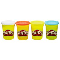 Play-Doh 4 Pack of Classic Colors for Kids 2+, 4-Ounce Cans (16 oz)