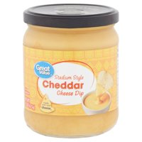 Great Value Stadium Style Cheddar Cheese Dip, 15 Oz.