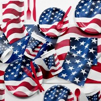 Patriotic Flag Party Supplies Collection