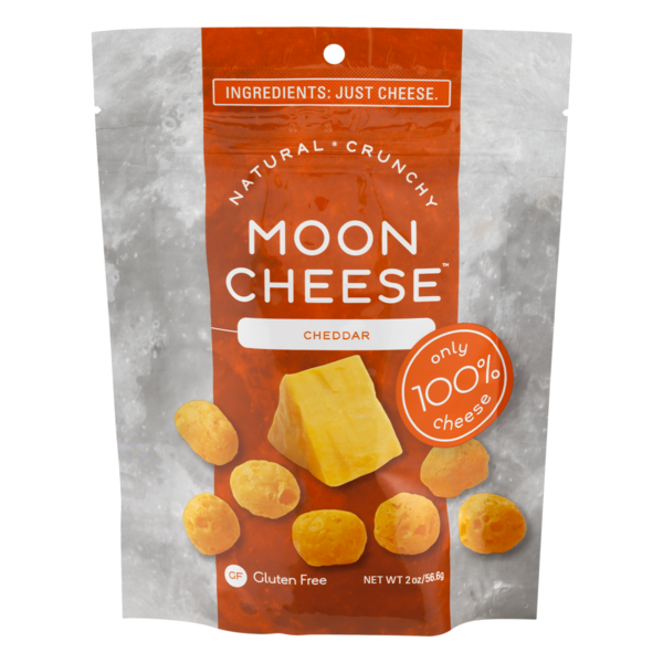 Moon Cheese Snack Cheddar