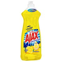 Ajax Dish Liquid Super Degreaser Lemon