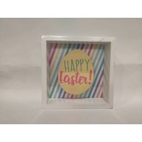 """Way to Celebrate Easter Egg shadow box table piece 5"""""""