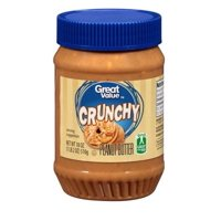 Great Value Crunchy Peanut Butter 18 ounces
