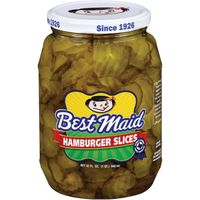 Best Maid Dill Hamburger Slices Pickles
