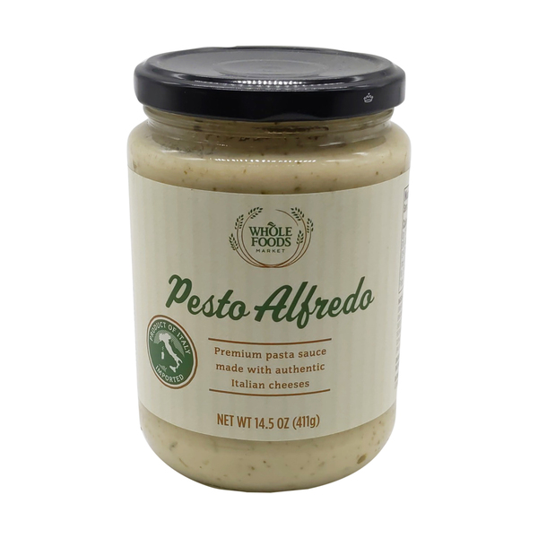 Whole foods market™ Pesto Alfredo Pasta Sauce, 14.5 oz